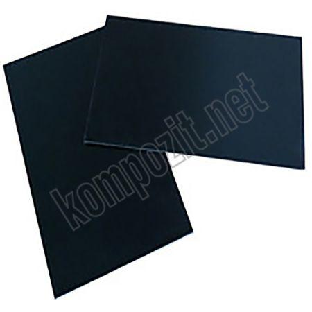 Cam Fiber Siyah G10 Pro Plaka T:1,5mm 40x50cm