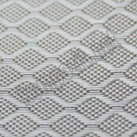 Dekoratif Cam Fiber Kumaş 200 gr/m2 Rhomb En:127cm -1m2