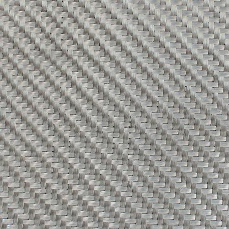 Dekoratif Cam Fiber Kumaş 290 gr/m2 twill Gümüş-10M2