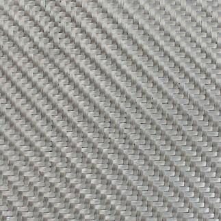 Dekoratif Cam Fiber Kumaş 290 gr/m2 twill Gümüş-50M2 - Thumbnail