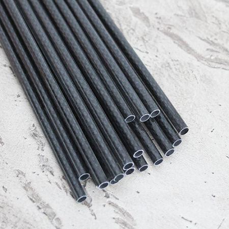 Karbon Fiber Boru 3K Dış/İç Çap:7mm/6mm
