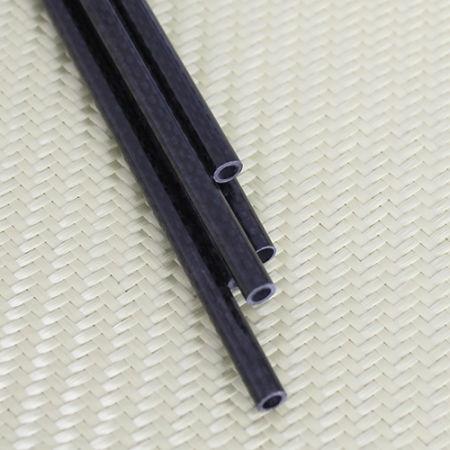 Karbon Fiber Boru 3K Dış/İç Çap:9mm/8mm