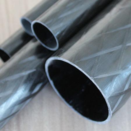 Karbon Fiber Boru Pro Dış/İç Çap:60mm/56,50mm
