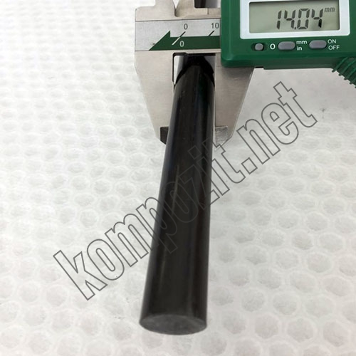 Karbon Fiber Çubuk Çap:14mm
