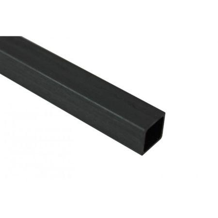 Karbon Fiber Eko Kare Profil Dış/İç: 13mm/10mm