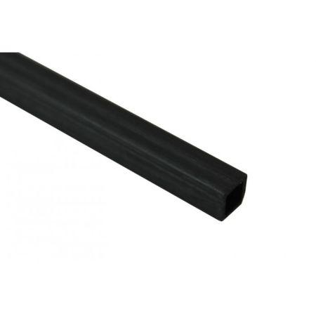 Karbon Fiber Eko Kare Profil Dış/İç:4mm/2,5mm