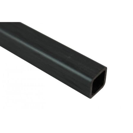 Karbon Fiber Eko Kare Profil Dış/İç: 20mm/17mm