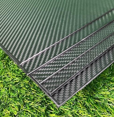 Karbon Fiber Plaka Pro T:1mm 50cmX50cm - Thumbnail