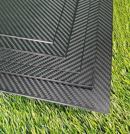 Karbon Fiber Plaka Pro T:1mm 50cmX50cm