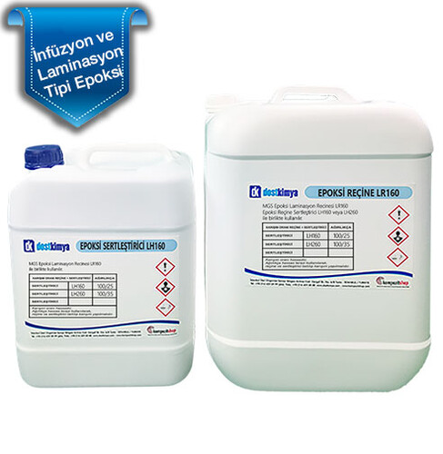 MGS Laminasyon Epoksi Seti L160/H160 - Thumbnail