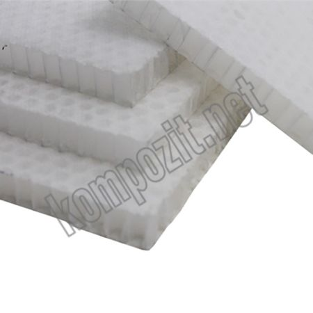 Poliproplen Honeycomb C:8mm -80kg/m3 T:10mm 120cmx120cm