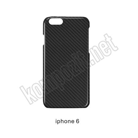 Karbon Fiber Kılıf Iphone6S Parlak